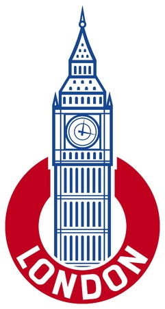 houses of parliament   london: big ben design  big ben label
