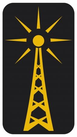 Radio antenna Stock Vector - 15039825