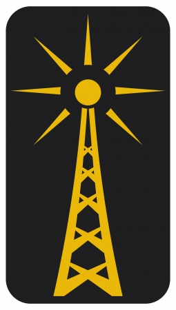 transmitter: Radio antenna