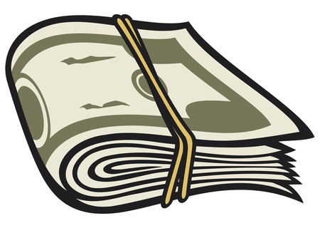 geld: geld Stock Illustratie