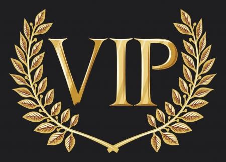 switch on: vip design  vip symbol, vip sign