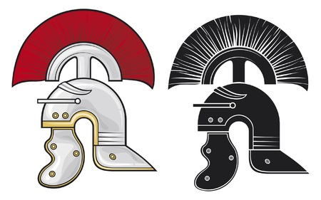 roman helmet Stock Vector - 15099271