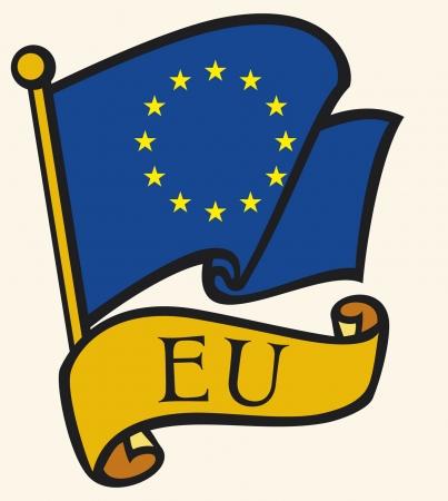 europa: european union flag  eu