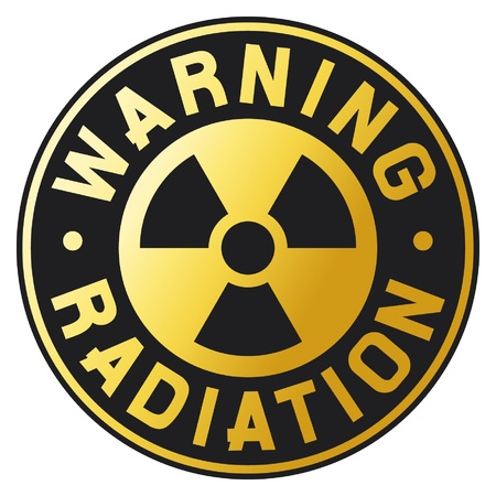 symbol of radiation Vector