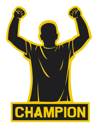 football fan: sport fan  champion design