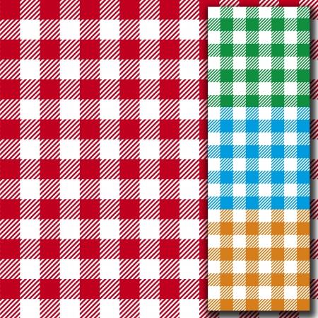 manteles: textura retro mantel de tela sin costura patr�n de fondo Vectores