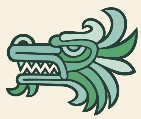 tatouage dragon: t�te de dragon