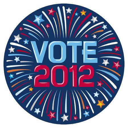 presidential election: United States of America Elections pins Illustration