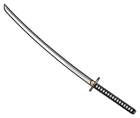kılıç: katana - japon kılıç Samuray kılıcı