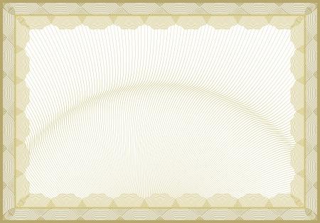 geschenkgutschein: Gesch�tztes Dokument Hintergrund Illustration