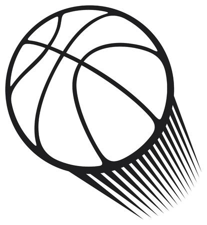panier basketball: basket-ball Illustration