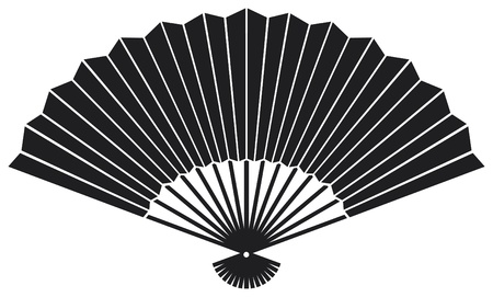 oosterse ventilator Vector Illustratie