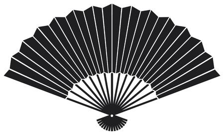 red fan: oriental fan