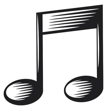 popular music: music note