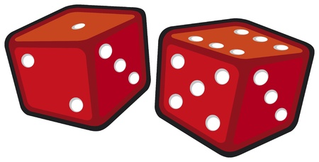 double the chances: red dices