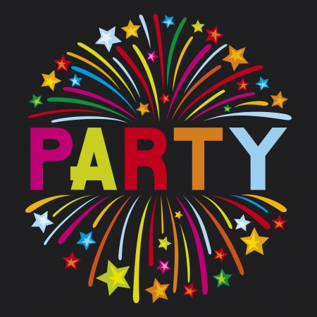 party firework Stock Vector - 15594654