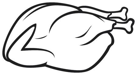 roast turkey: Whole roast turkey
