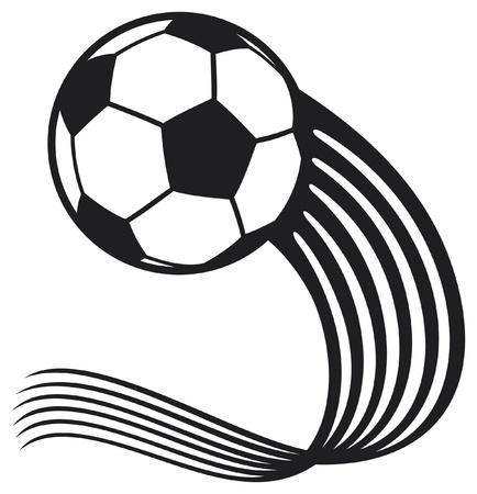 soccer ball: football ball (soccer ball) Illustration
