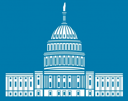 the capitol: United States Capitol Illustration