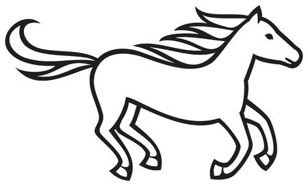 running horse: running horse