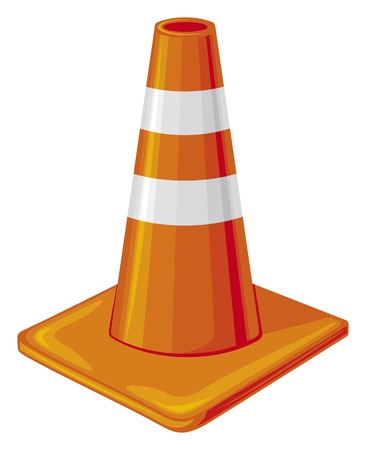 traffic cone Stock Vector - 15867595