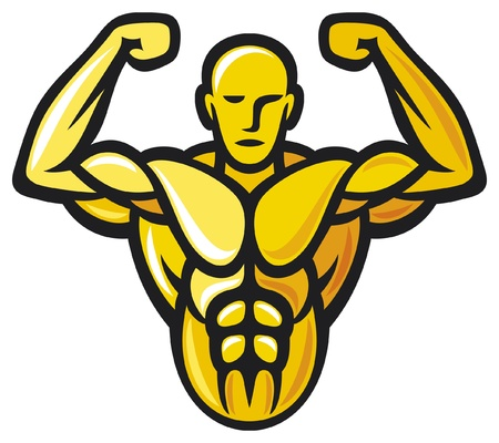 Bodybuilder Stock Vector - 15932744
