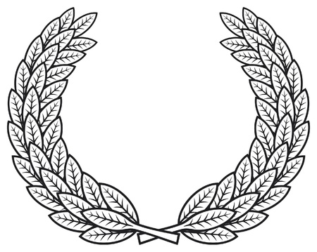 Laurel wreath Stock Vector - 15932902