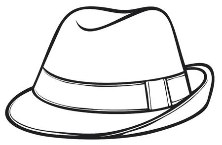 Fedora-Hut Männer s classic fedora