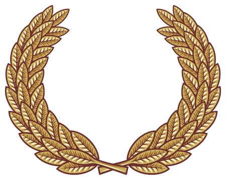 Laurel wreath vector Vector