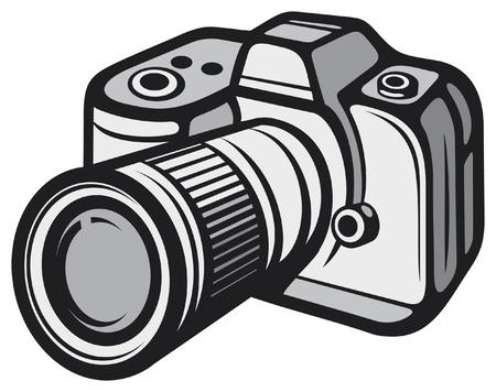 Compact digital camera (digital photo camera) Stock Vector - 16004923