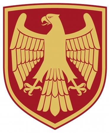 eagle  coat of arms, emblem Stock Vector - 16081578