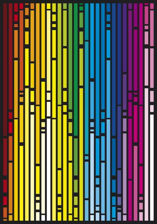 pin stripe: abstract background Illustration