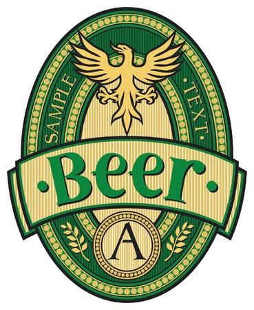 beer label design Stock Vector - 17422983