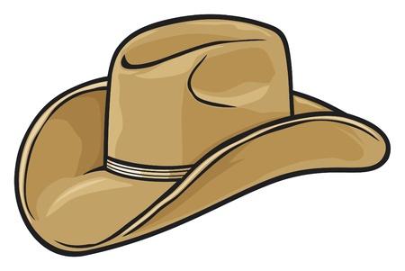 country western: chapeau de cowboy