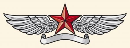 antyk: gwiazda i skrzydła