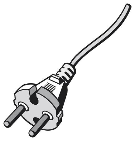 amperage: power plug  power cords, plug cable