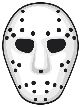 hockey mask Stock Vector - 17469992