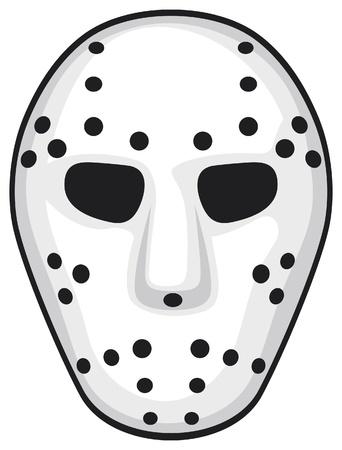 frightening: hockey mask