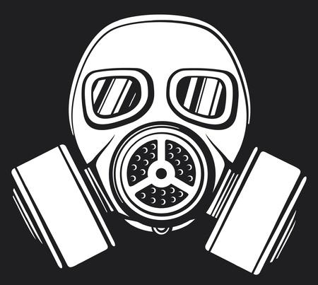 masque à gaz masque à gaz armée, masque de protection dans la face du filtre, le masque de gaz protecteur