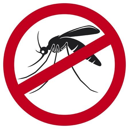 나일 강: 모기 정지 신호 일러스트