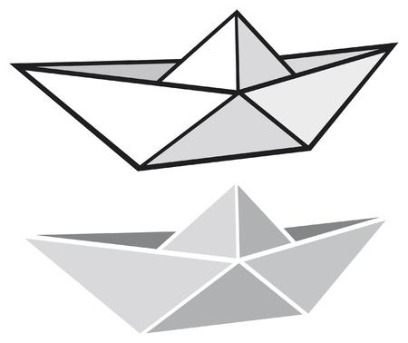 brook: origami paper boat  origami paper ship