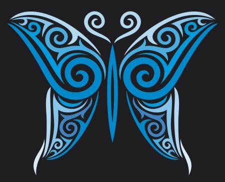 cross and wings: mariposa de estilo tatuaje dise�o del tatuaje,