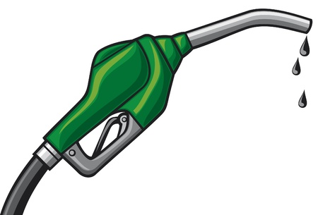 pompe à carburant essence buse, le tuyau de la pompe à gaz, pompe à gaz combustible tuyau distributeur Vecteurs