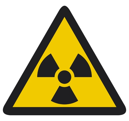 hazard sign: Nuclear warning symbol