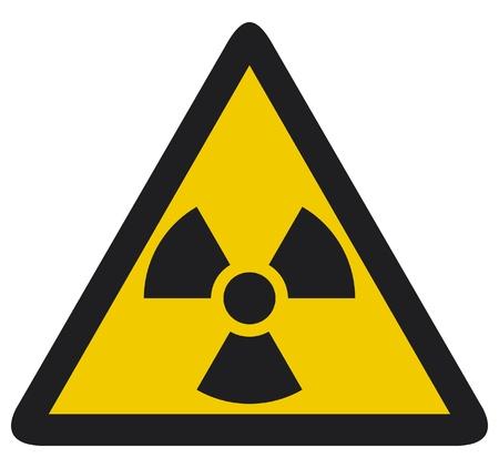 uranium: Nuclear warning symbol