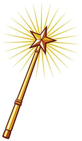 a legend of magic: magic wand