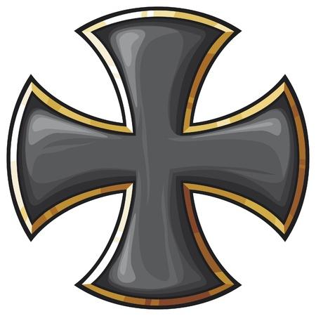 teutonic: black cross