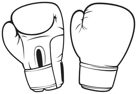 Boxhandschuhe Vektorgrafik