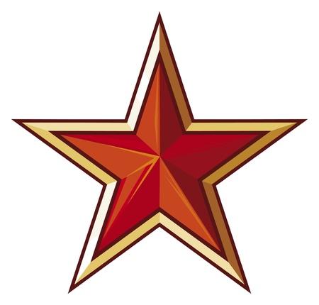 soviet star Stock Vector - 18076460