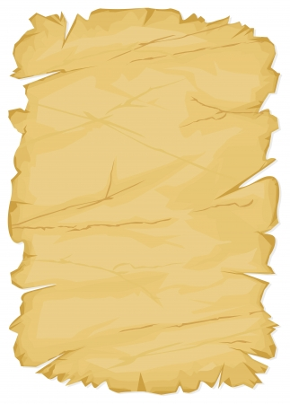 burnt paper: old paper  vector texture of the old paper